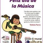Unión Comunal de la Cultura saluda a los Músicos Andacollinos