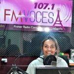 """Desde FM Voces, Andrea Campusano, lanza su nuevo matinal """"Tu Voz en la Mañana"""""""