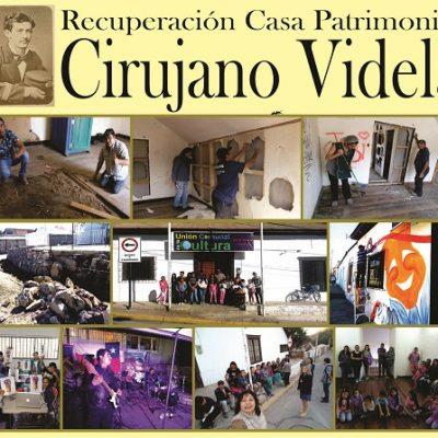 Artistas Andacollinos Guardianes de la Casa Patrimonial del Cirujano Videla